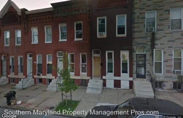 328 North Carrollton Avenue - 328 North Carrollton Avenue, Baltimore, MD 21223