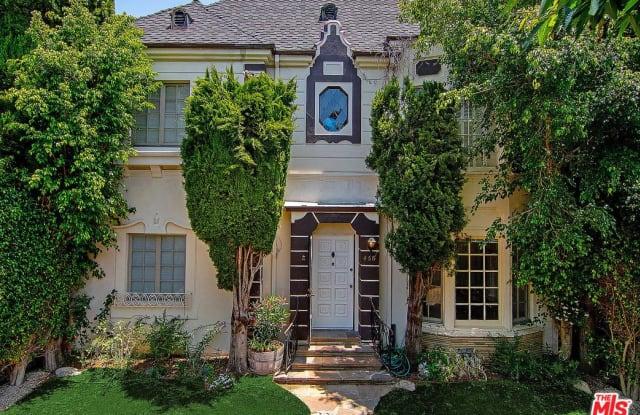 458 South ROXBURY Drive - 458 Roxbury Dr, Beverly Hills, CA 90212