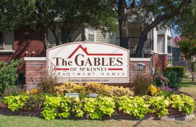 The Gables of McKinney Apartments - 1500 W Eldorado Pkwy, McKinney, TX 75069