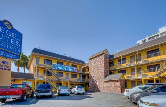 Siegel Suites Charleston - 401 East Charleston Boulevard, Las Vegas, NV 89101