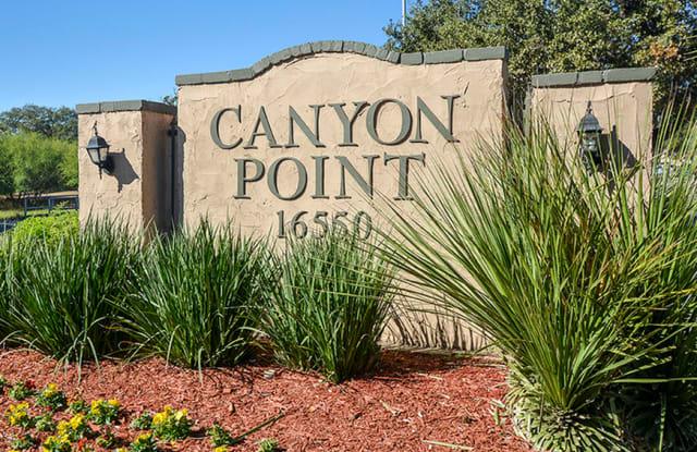 Canyon Point - 16550 Henderson Pass, San Antonio, TX 78232