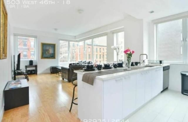 503 West 46th - 503 West 46th Street, New York, NY 10036