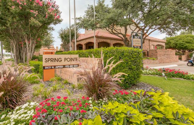 Spring Pointe - 3501 N Jupiter Rd, Richardson, TX 75082