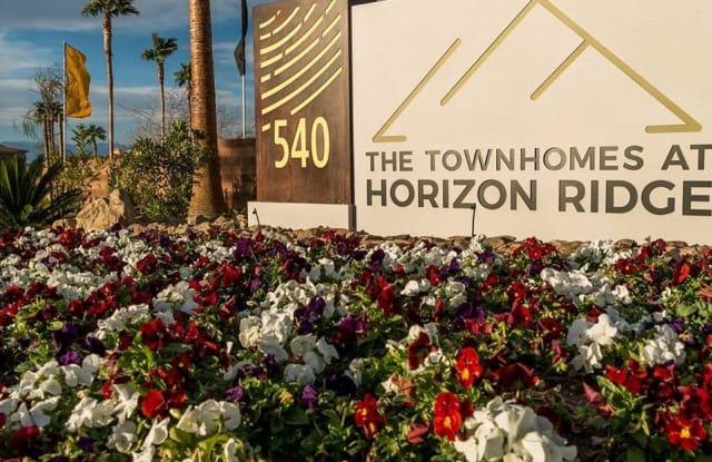Townhomes at Horizon Ridge - 540 W Horizon Ridge Pkwy, Henderson, NV 89012