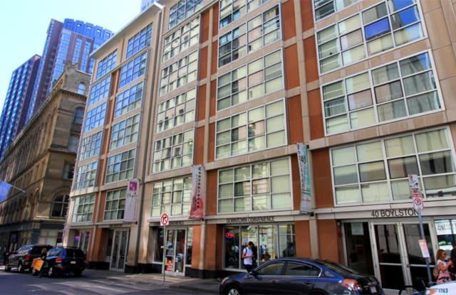 40 Boylston St - 40 Boylston Street, Boston, MA 02111