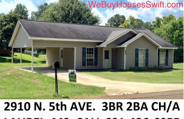 2910 N 5th Ave RENT TO OWN - 2910 North 5th Avenue, Laurel, MS 39440