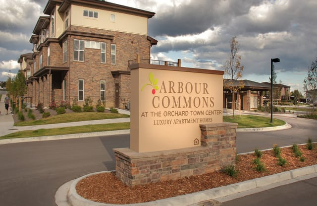 Arbour Commons at the Orchard Town Center - 663 W 148th Ave, Westminster, CO 80023