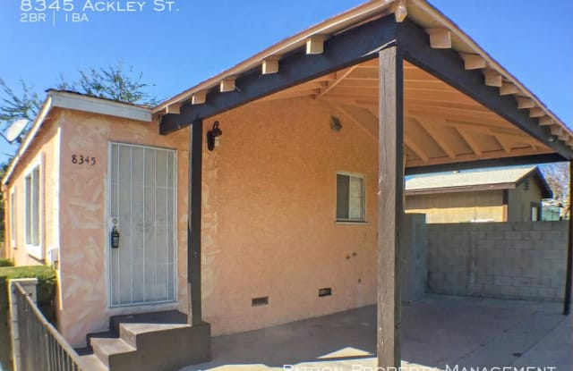 8345 Ackley St. - 8345 Ackley Street, Paramount, CA 90723