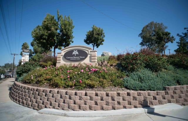Carlton Heights Villas - 9705 Carlton Hills Blvd, Santee, CA 92071