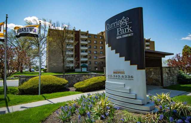 Carriage Park Apartments - 300 Chatham Park Dr, Pittsburgh, PA 15220