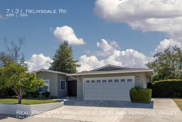 7131 Helmsdale Rd - 7131 Helmsdale Road, Los Angeles, CA 91307