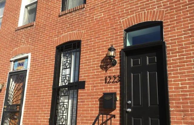 1223 BAYARD STREET - 1223 Bayard Street, Baltimore, MD 21230