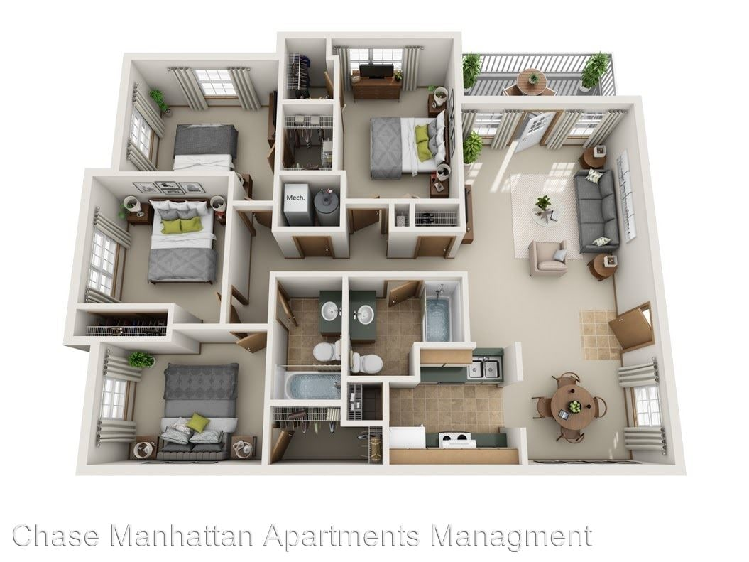 Chase Manhattan Apartments