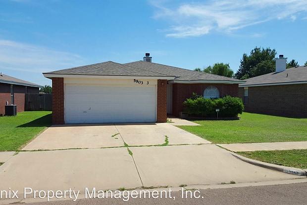 5903 10th Street, # 3 - 5903 10th Street, Lubbock, TX 79416