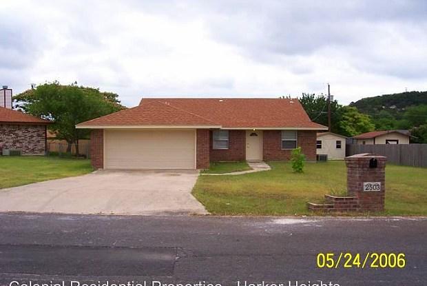 2503 Limestone - 2503 Limestone Trl, Harker Heights, TX 76548