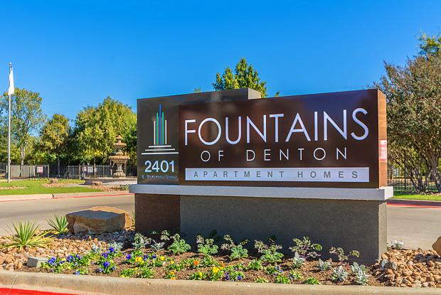 Fountains of Denton - 2401 E McKinney St, Denton, TX 76209
