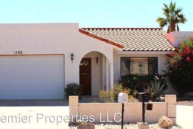 1800 Walnut Drive - 1800 Walnut Dr, Lake Havasu City, AZ 86406