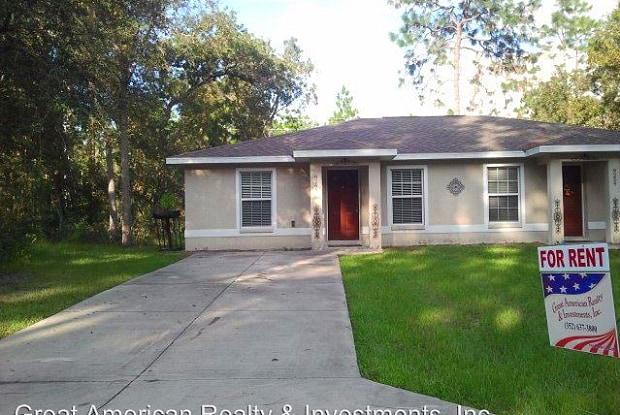9261 N. Travis Dr. - 9261 North Travis Drive, Citrus Springs, FL 34434