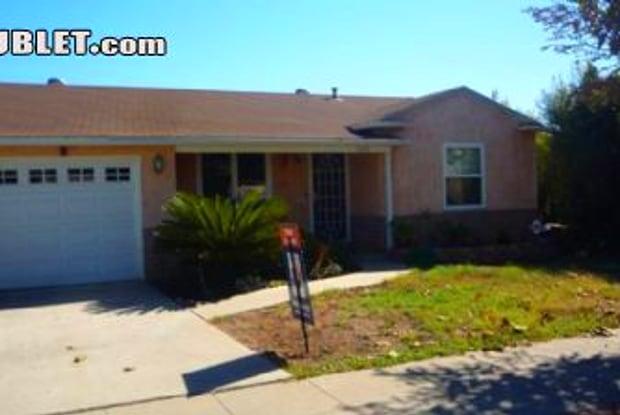 6233 Malcolm Dr - 6233 Malcolm Drive, San Diego, CA 92115