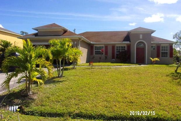 4117 SW Macad Street - 4117 Southwest Macad Street, Port St. Lucie, FL 34953