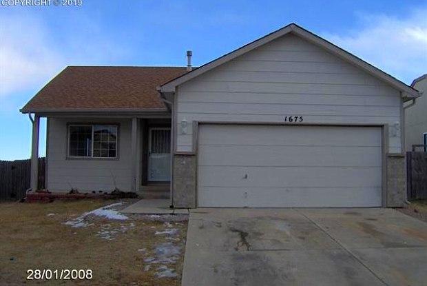1675 Needham Court - 1675 Needham Court, Colorado Springs, CO 80916