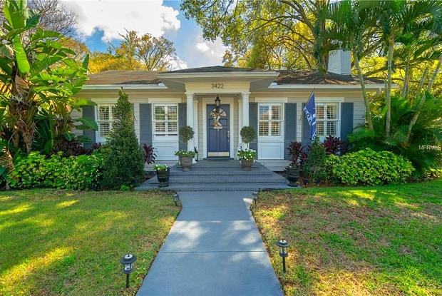 3422 W PALMIRA AVENUE - 3422 West Palmira Avenue, Tampa, FL 33629
