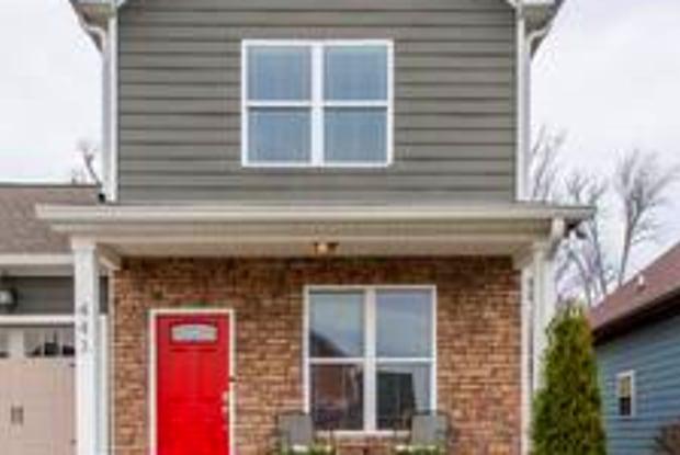 443 Monticello Street - 443 Monticello Street, Nashville, TN 37207