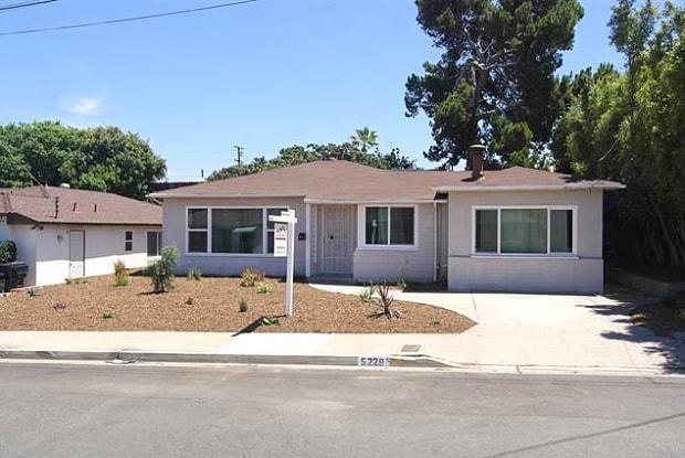 5229 Tipton St - 5229 Tipton Street, San Diego, CA 92115
