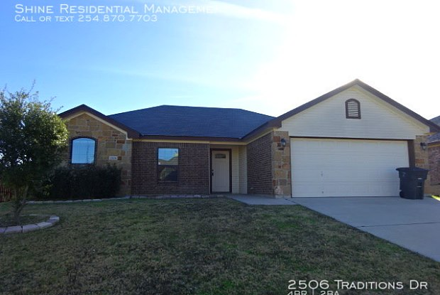 2506 Traditions Dr - 2506 Traditions Drive, Killeen, TX 76549
