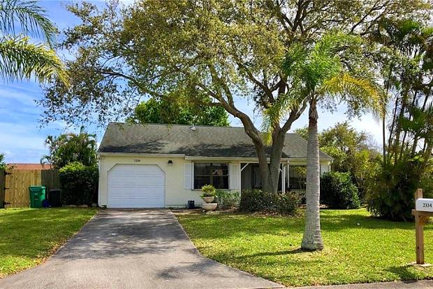 2334 SE Rainier Road - 2334 Southeast Rainier Road, Port St. Lucie, FL 34952
