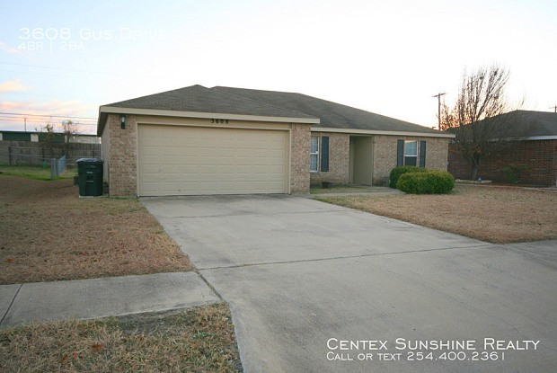 3608 Gus Drive - 3608 Gus Drive, Killeen, TX 76549
