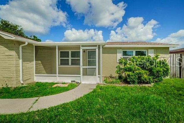 3347 SALISBURY DRIVE - 3347 Salisbury Drive, Holiday, FL 34691