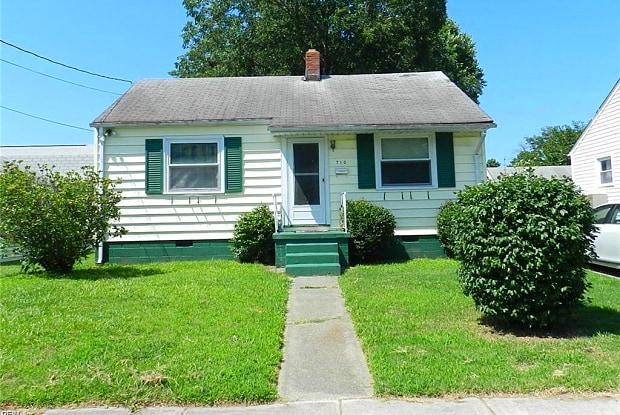 710 WAUKESHA Avenue - 710 Waukesha Avenue, Norfolk, VA 23509