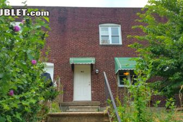 514 N Belnord Ave - 514 North Belnord Avenue, Baltimore, MD 21205