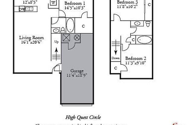 1665 HIGH QUEST CIR - 1665 High Quest Circle, Columbia, MO 65202