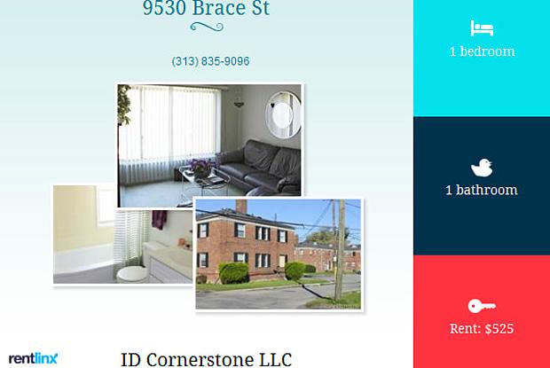 9530 GREENVIEW - 107 - 9530 Greenview Ave, Detroit, MI 48228