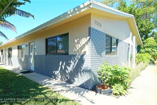 1513 NW 3rd Ave - 1513 Northwest 3rd Avenue, Fort Lauderdale, FL 33311
