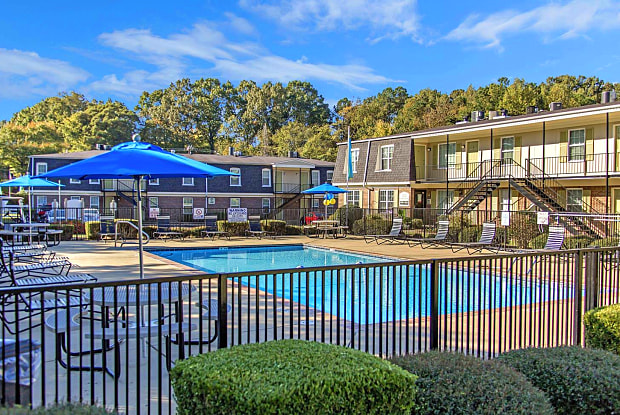 The Hermitage Apartments - 189 Old Hickory Blvd, Jackson, TN 38305