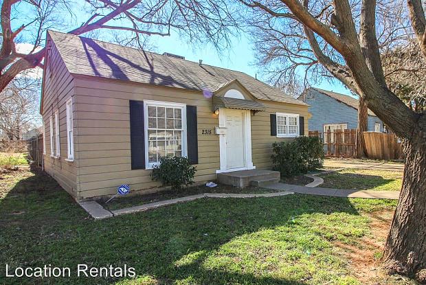 2315 28th street - 2315 28th Street, Lubbock, TX 79411