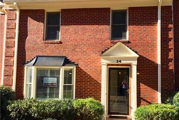 24 Huntington Place Drive - 24 Huntington Place Drive, Sandy Springs, GA 30350