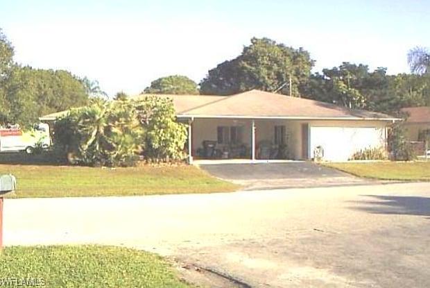 815 Indiana AVE - 815 Indiana Avenue, McGregor, FL 33919