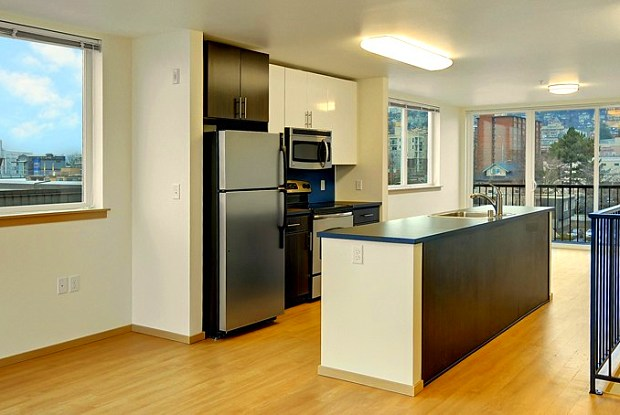 H2O Apartments - 201 West Harrison Street, Seattle, WA 98119