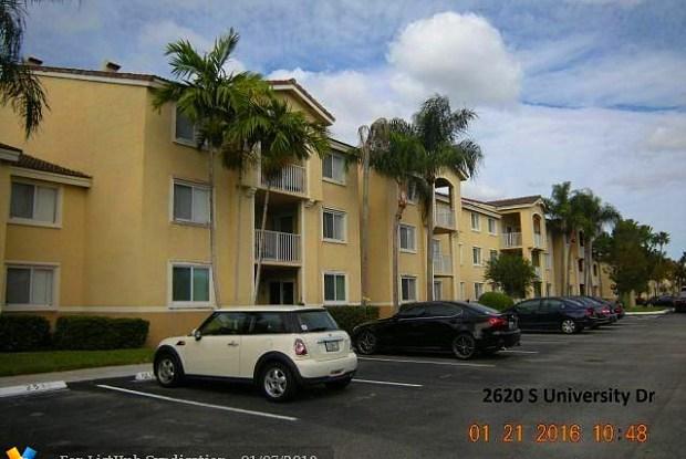 2620 S University Dr - 2620 South University Drive, Davie, FL 33328