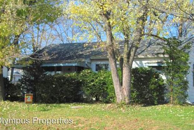 417 E Hillside Dr - 417 East Hillside Drive, Bloomington, IN 47401