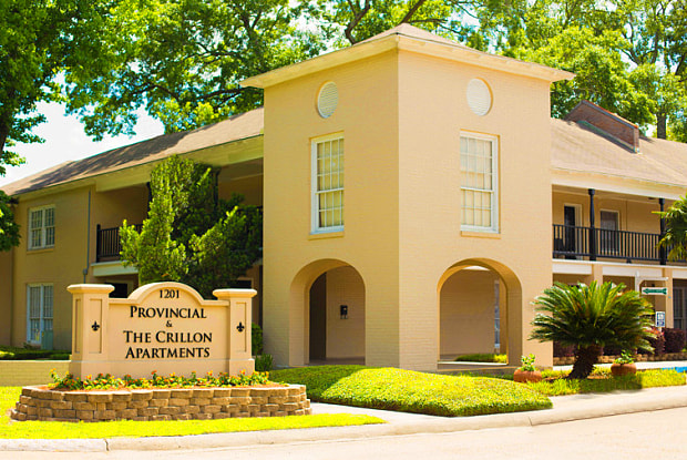 Provincial and The Crillon Apartments - 1201 N Foster Dr, Baton Rouge, LA 70802