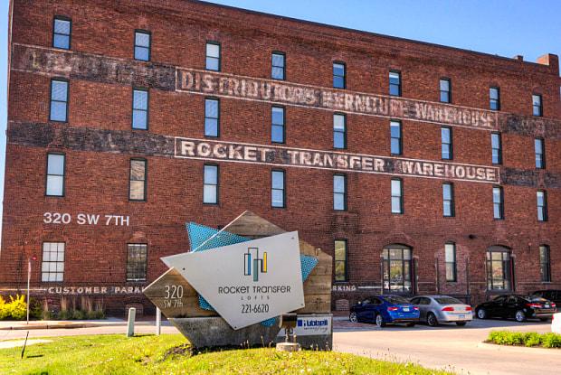 Rocket Transfer Lofts - 320 Southwest 7th Street, Des Moines, IA 50309