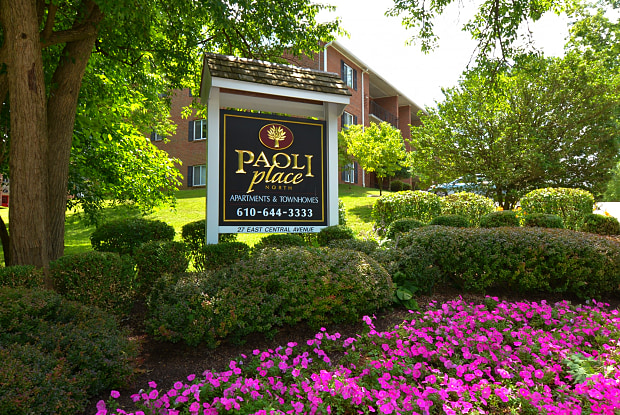 Paoli Place Apartments & Townhomes - 27 E Central Ave, Paoli, PA 19301