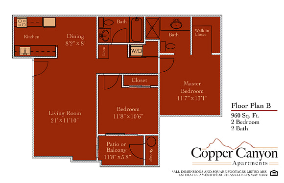 Copper Canyon - Apartments for rent