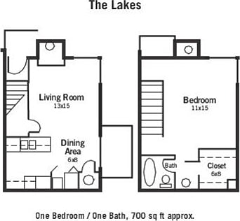 1 bedroom townhouse. 1 Bedroom Townhouse The Lakes  Apartments for rent