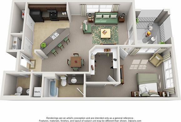 Century Cross Creek Apartments For Rent